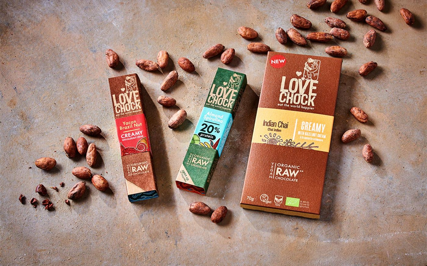 Brand positioning Lovechock bars